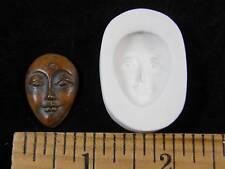 Goddess Face (Med) Polymer Clay Mold (#MD1361)