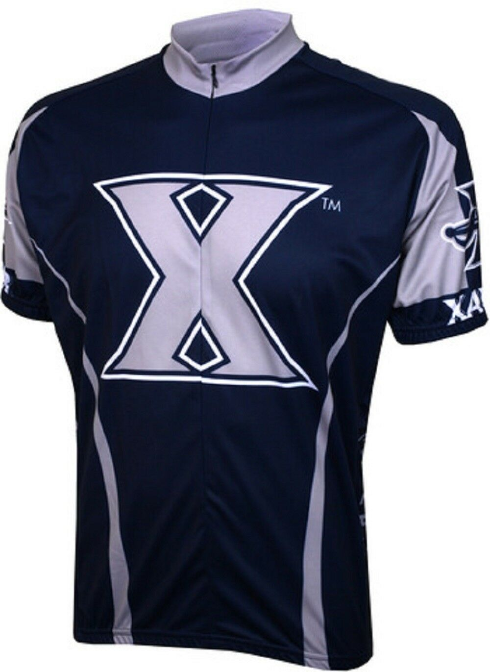 NCAA Men's Adrenaline Promotions  Xavier Musketeers Cycling Jersey  fashion mall