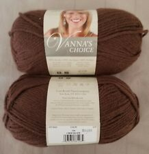 Lion Brand 860-126 Vanna/'s Choice Yarn-Chocolate 3Pk