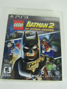 Lego Batman 2 DC Super Heroes Sony PlayStation 3 PS3 Game Complete w/ Manual