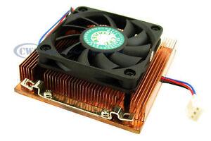 Evercool-CUW3-610-Low-Profile-1U-Copper-CPU-Cooler-for-P4-Socket-478-w-Backplate
