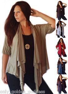 Asym Stræk Vælg jakke Jersey kortærmet størrelse Cascade og U farve A8fw0qO