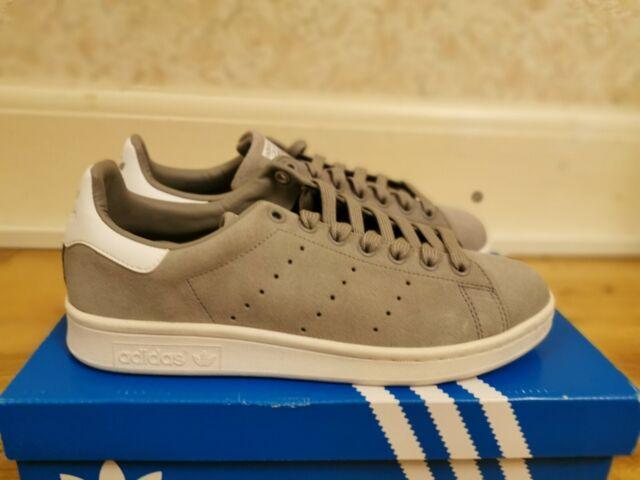 adidas Originals Stan Smith Grey Suede | SIZE UK 7 |