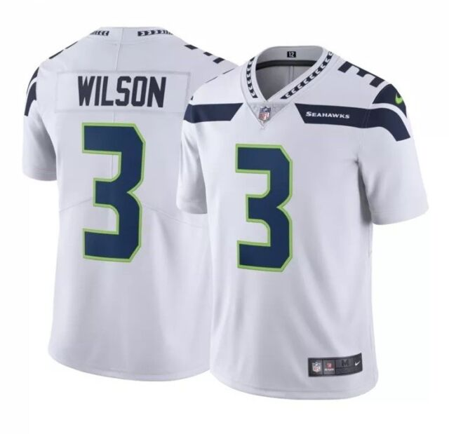 low priced 62bbf d5216 Nike Men's Away Limited Jersey Seattle Seahawks Russell Wilson #3 Size  Medium