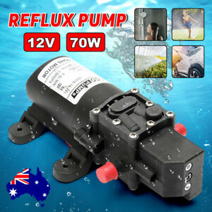 12V-Water-Pump-6Lpm-70W-130PSI-Self-Priming-High-Pressure-Caravan-Camping-Boat