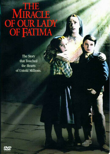 The Miracle of Our Lady of Fatima DVD NEW