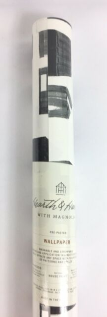 Hearth /& Hand w// Magnolia FERN WALLPAPER 56 SQ FT Double Roll SOLD OUT!