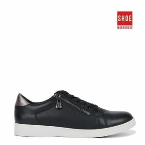 Hush Puppies MIMOSA Black Womens Low Sport/Athletic Leather/Synthetic Shoes