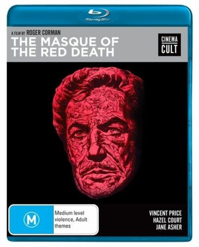 1 of 1 - The Masque Of The Red Death (Blu-ray 2015) PAL Region B Slipcase Cinema Cult VGC