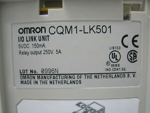 OMRON-INTERFACE-MODULE-CQM1-LK501-CQM1LK501-NEW-2-5-days-delivery
