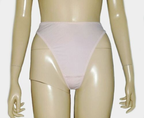 New High Rise Solid Women/'s Stretchable Soft Thong Panties