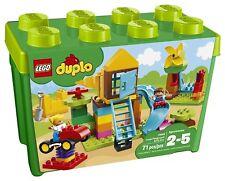 Building Set Toys LEGO DUPLO My First Large Playground Brick Box Kit Gift Idea  sc 1 st  eBay & Lego Education Duplo Large Building Plates Set 4570269 | eBay
