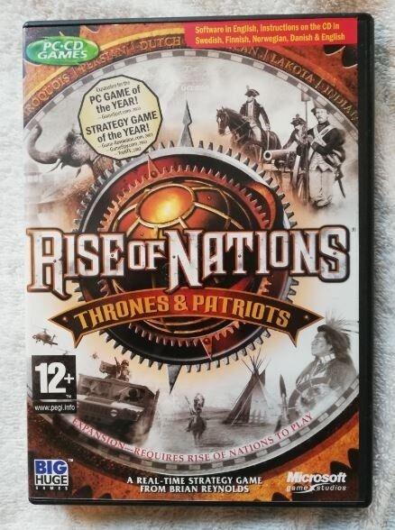 Rise of Nations Thrones & Patriots, til pc, strategi