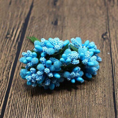 12pcs//Bag Artificial Flower Stamen Wire Stem//Marriage DIY Wreath Wedding Decor