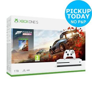 Microsoft Xbox One S 1TB Console & Forza Horizon 4 Bundle - White