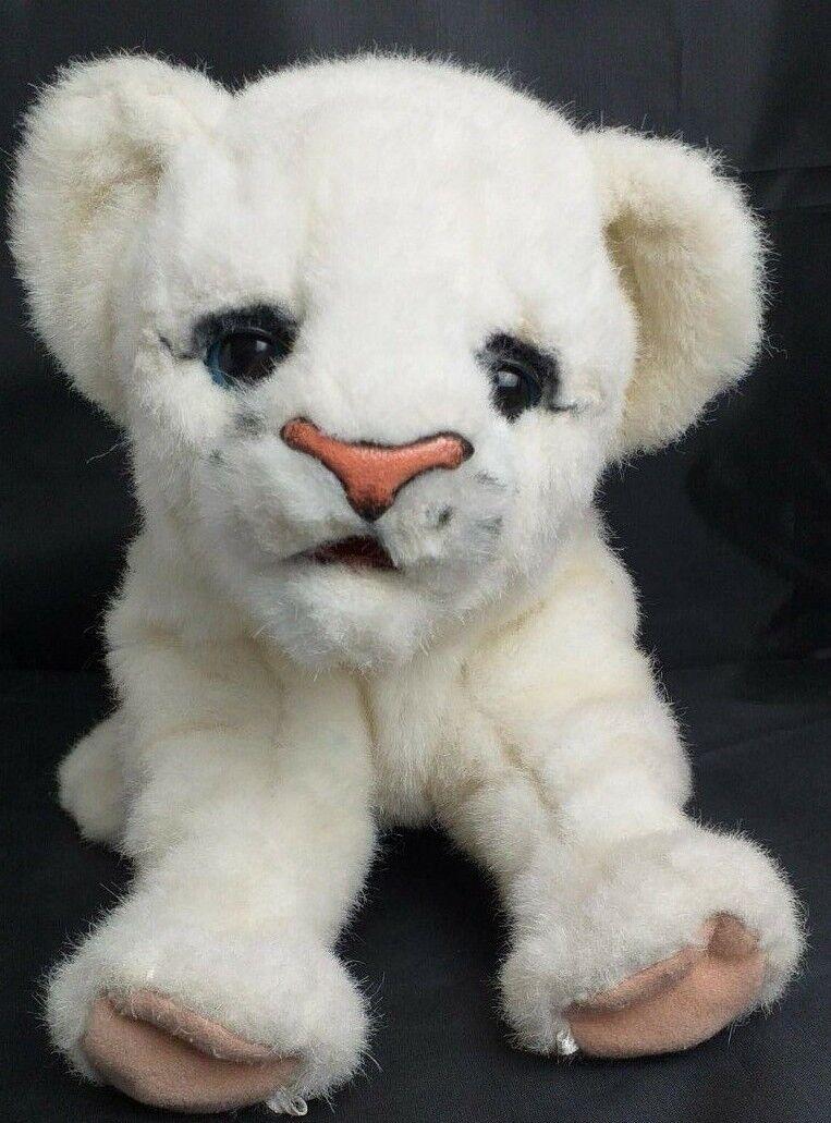 RAREFurreal Friends Baby Newborn WHITE Lion luvCub Animal Plush Interactive Pet