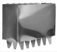 Hvac Duct 4 X 8 Metal Register Collars