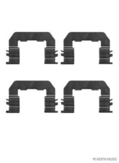 Zubehörsatz, Scheibenbremsbelag Vorderachse HERTH+BUSS JAKOPARTS J3660512