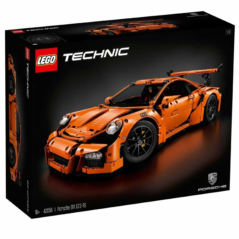 LEGO Technic Porsche Porsche Porsche 911 GT3 RS 42056 LIMITED EDITION - U.S.A. SELLER 5c629c