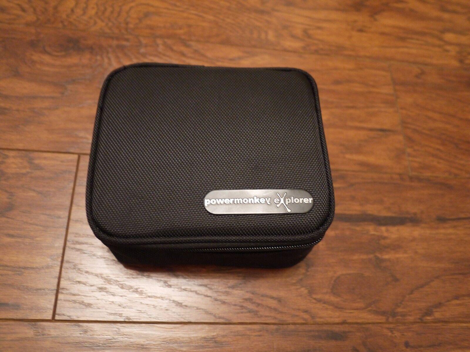 Powertraveller Powermonkey Explorer  Solar Portable Charger - Yellow  authentic