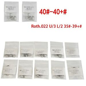 4pc-Pack-Dental-Ortho-1st-Molar-Buccal-Tubes-Band-Conv-Roth-022-U3-L2-35-40