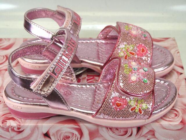 Lelli Kelly Girls Red Glitter Olivia shoes LK8124