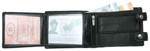 Messieurs Portefeuille Biker Portefeuille Avec Chaîne Porte-monnaie portefeuille 4 couleurs