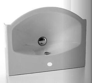 Sanitari bagno lavabo sospeso di ceramica cielo easy bath for Cielo arredo bagno