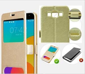 Soie-Fenetre-Portefeuille-Clapet-Cuir-Housse-Original-pour-Samsung-Galaxy-J5-J7