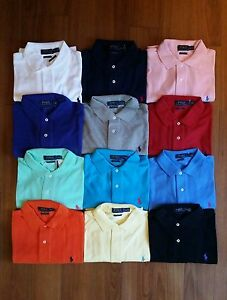 Men-Polo-Ralph-Lauren-Mesh-Polo-Shirt-Size-S-M-L-XL-XXL-CLASSIC-FIT-NWT