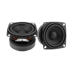 2Pcs 53mm Audio Portable Speaker driver Full Range 4 Ohm 15 W Loudspeaker DIY