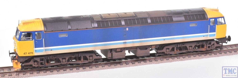 31-650R Bachuomon OO classe 47 Diesel 47475 Trans-Pennine, Plow & ED Weathering