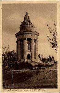 Eisenach-Thueringen-alte-Ansichtskarte-1920-Partie-am-Burschenschafts-Denkmal