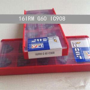 ISCAR-16IRM-G60-IC908-Threaded-blade-Carbide-Inserts-10Pcs