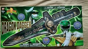 Mighty Morphin Power Rangers Legacy Dragon Dagger MMPR Tommy Oliver Green Ranger