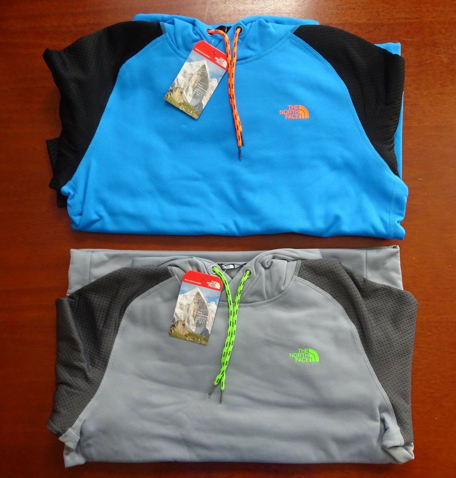 North Face Men's Burnaby Pull Over Hoodie NWT