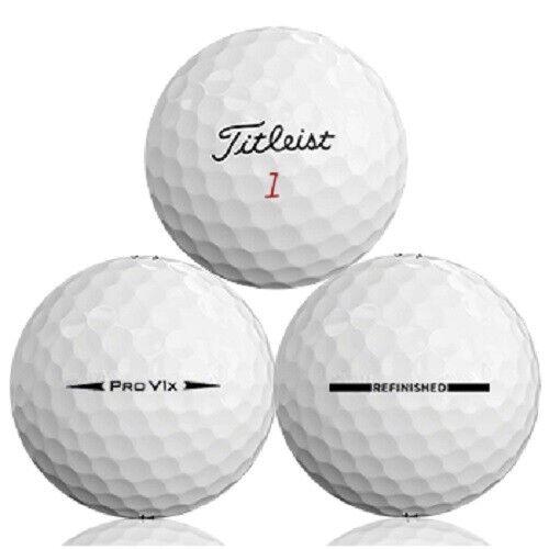 24 - 2 Dozen Titleist Pro V1x 2016 Mint Factory Refinished Golf Balls No Logos