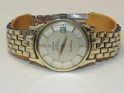 1966 OMEGA CONSTELLATION PIE PAN DIAL TWO TONE CAL 561 DATE REF 168.005