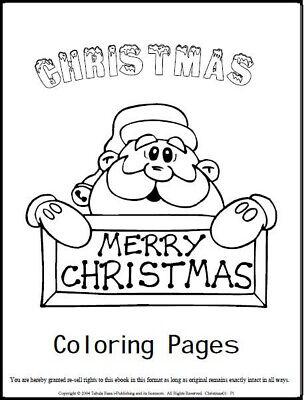 """malbuch 56 malvorlagen """" weihnachten """" ausmalbilder als"""
