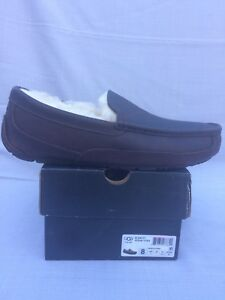 6a07b7ab247 UGG Men s Ascot Leather Slipper COLOR China Tea Size  8-US 5379