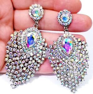 Chandelier Earrings Rhinestone