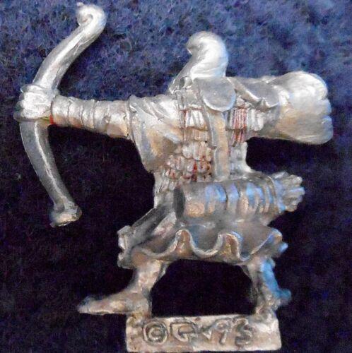1993 caos Enano Duende Archer 7 ciudadela Bowmen Warhammer army Bowman arqueros