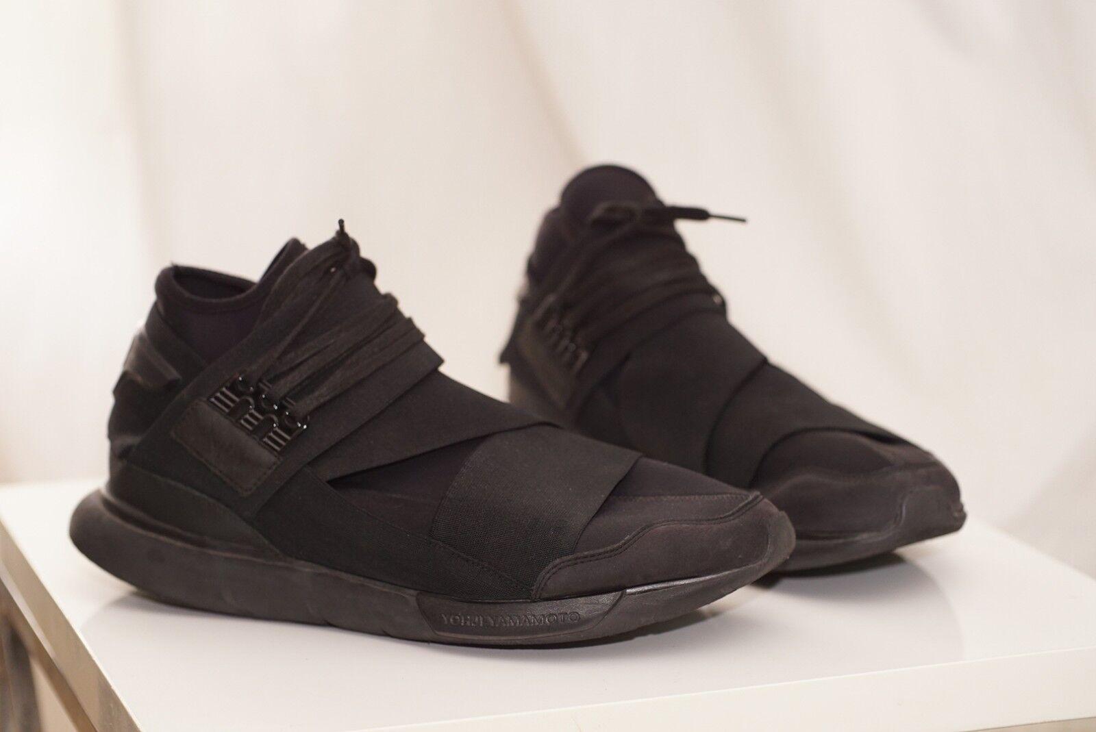 Adidas Y-3 Qasa High Triple Black sz. 12