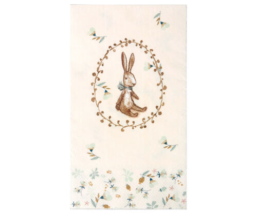 * Maileg NAPKINS Easter Easter Pastel Bunny Paper 16 ST Decoration
