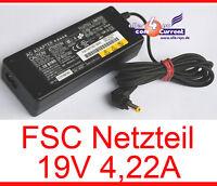 19V 4,22A NETZTEIL FSC LIFEBOOK S7000D S7010 E7110 E8000 T4010 19 VOLT 4,2A N18