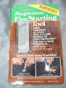 Doan-Machinery-amp-Equipment-Co-Magnesium-Fire-Starting-Tool-Camping-Survival