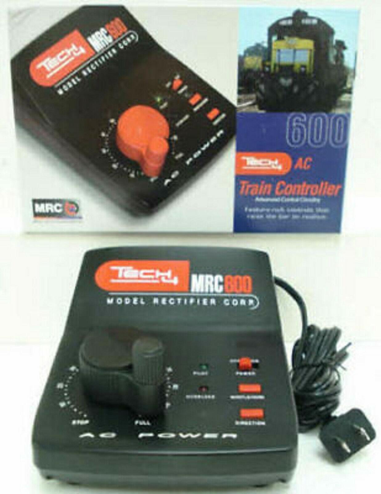 MRC 600 O Scale Tech 4 600 50 Watt AC Output LIONEL NEW
