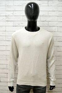 Felpa-CAMEL-ACTIVE-Uomo-Taglia-Size-L-Maglia-Maglione-Sweater-Man-Cotone-Grigio