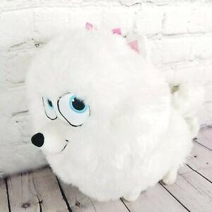 "The Secret Life of Pets Gidget Puppy Dog Plush Stuff Animal White 10"" Pomeranian"
