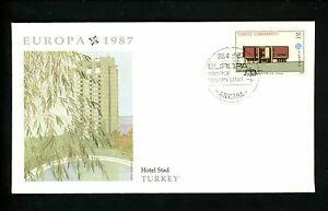 Postal History Turkey Fdc 2379 2380 Set Of 2 Europa Modern